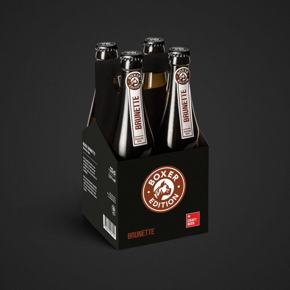 Boxer Edition Brunette 4x33cl
