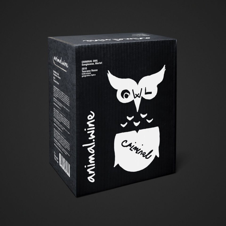 Animal Wine Criminal Owl 6x75cl