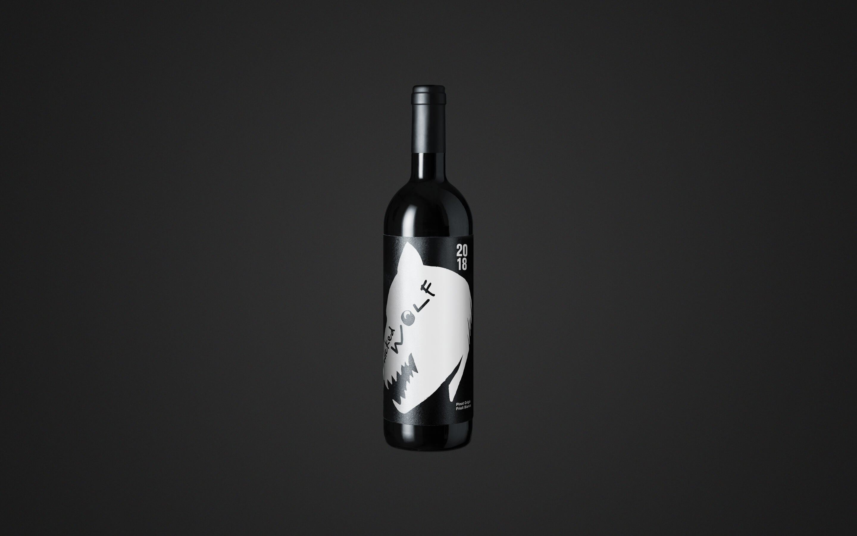 Animal Wine Wicked Wolf Vorderseite