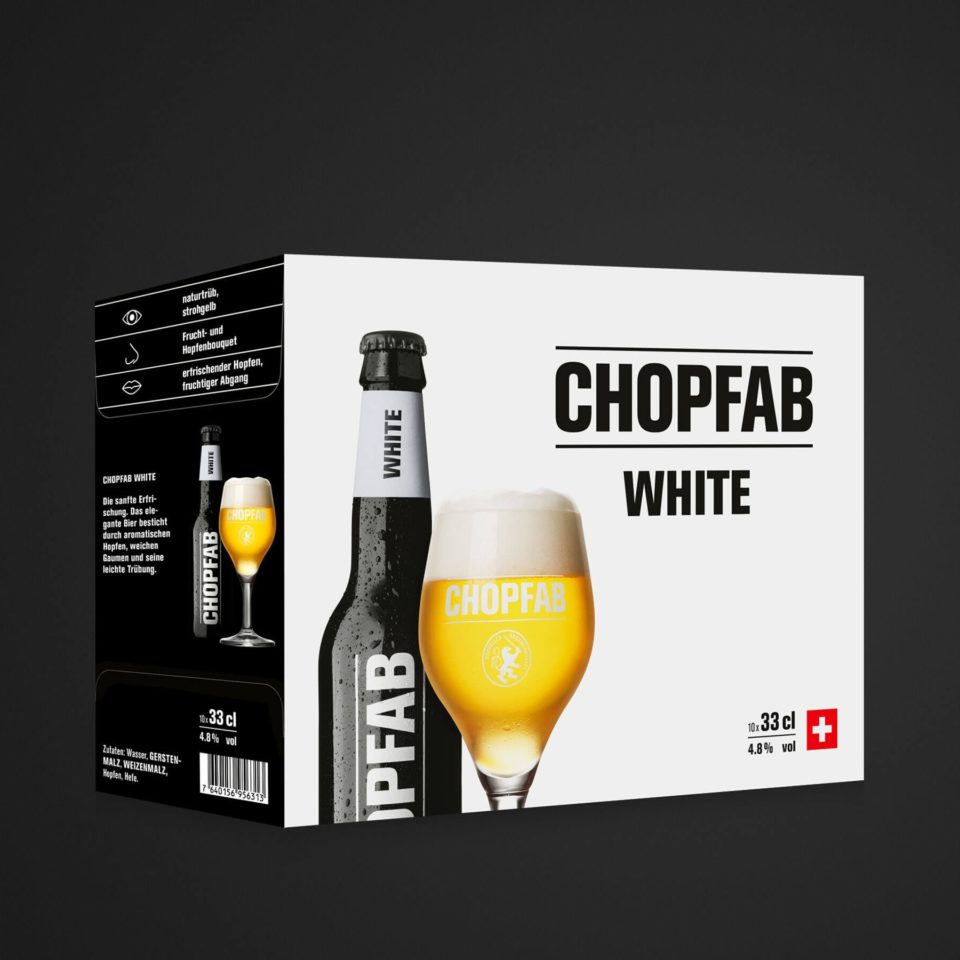 Chopfab White 10x33cl